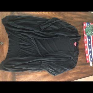 Merona cardigan black size L